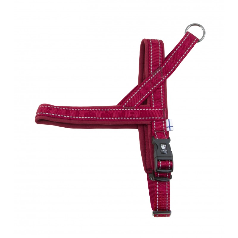 932808 Шлейка Hurtta Casual Harness 45см Красный